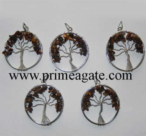 Tiger--Eye-Tree-Of-Life-Pendants