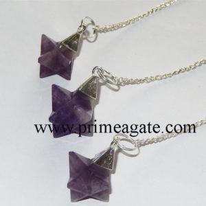 Amethyst-Merkaba-Star-Pendulums