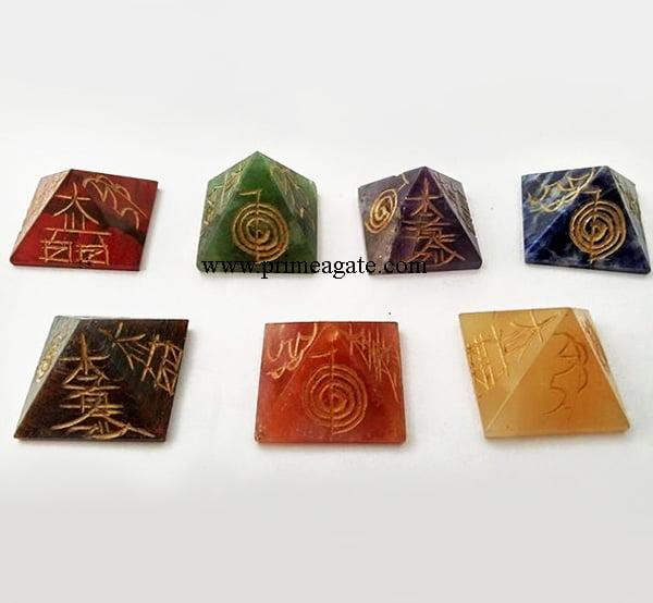 Chakra-Engraved-Reiki-Pyramid-Set