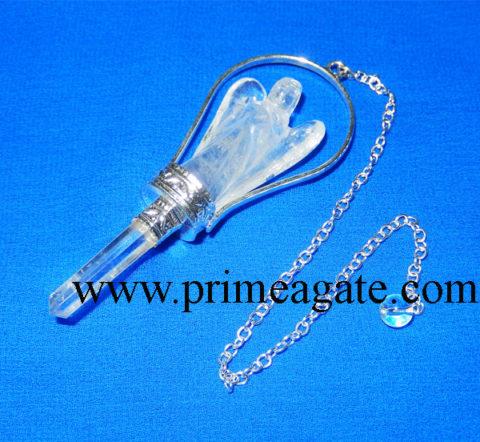 Crystal-Quartz-Angel-Pendulum