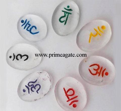 Crystal-Quartz-Colorful-Sanskrit-Oval-Set