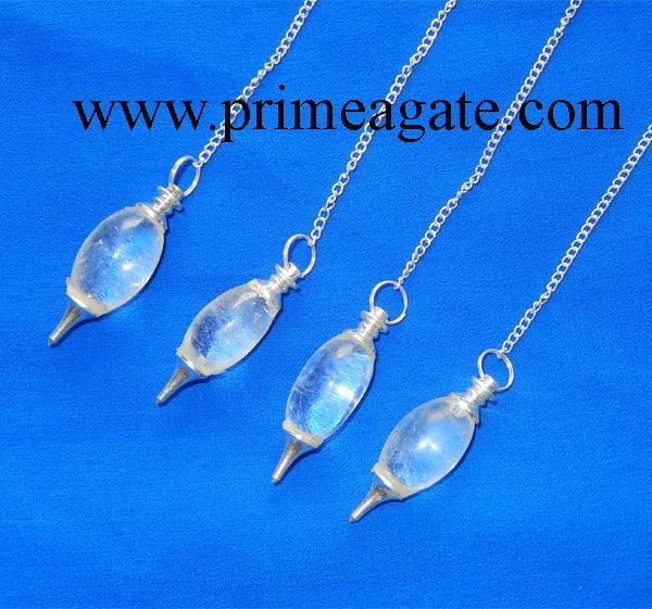 Crystal-Quartz-Lingum-Pendulum
