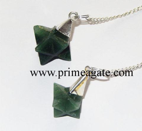 Green-Mica-Merkaba-Star-Pendulums