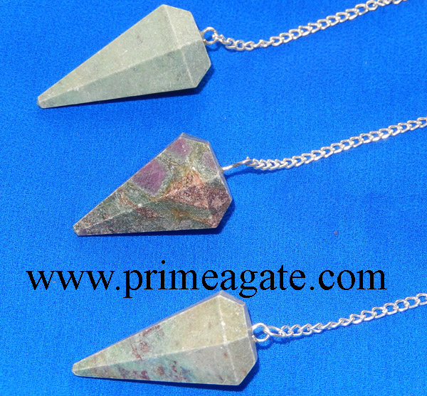 Ruby-Fuchsite-Facetted-Pendulums