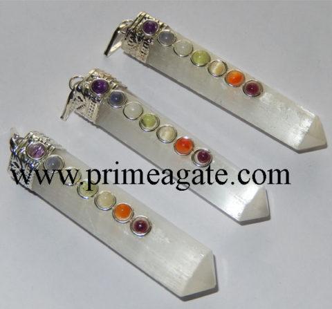 Selenite-Chakra-Cap-Pencil-Pendants