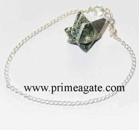 Tree-Agate-Merkaba-Star-Pendulum