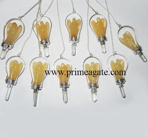 Yellow-Aventurine-Angel-Pendulums
