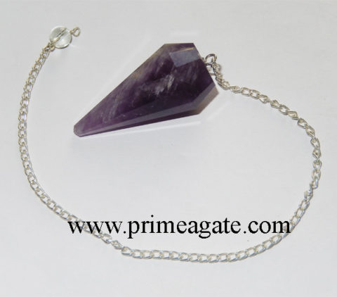 Amethyst-Facetted-Pendulums
