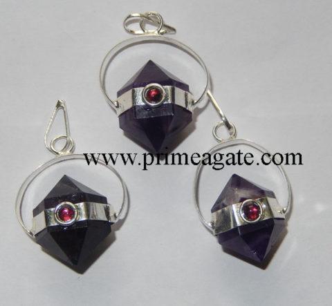 Amethyst-Herkimer-Pendant-With-Garnet
