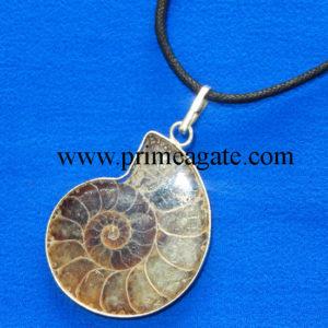Ammonite-Pendants-With-Black-Cord