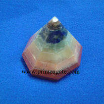 Chakra-Stones-Bonded-Conical-Pyramids
