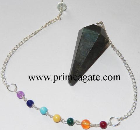 Labradorite-Chakra-Pendulum