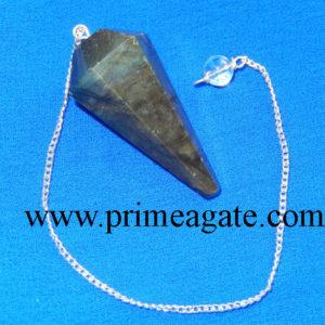 Labradorite-Facetted-Pendulum