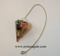 Mix-Stones-Facetted-Pendulum