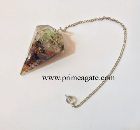 Orgone-Chakra-Stones-Facetted-Pendulum