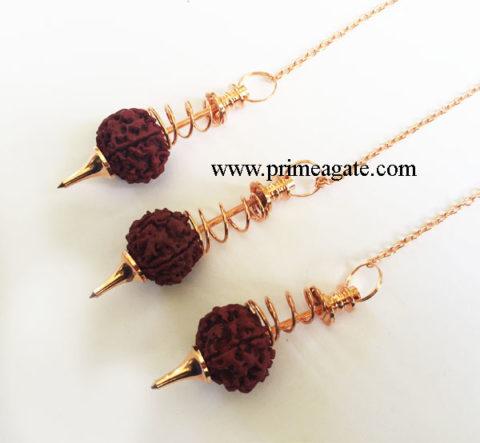 Rudraksha-Golden-Pendulums