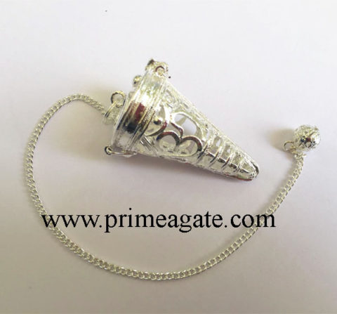 Silver-OM-Cage-Pendulum