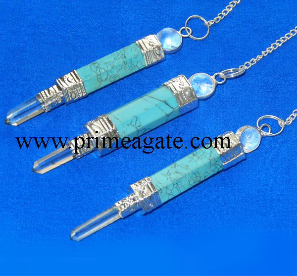 Turquoise-3Pc-Pendulums