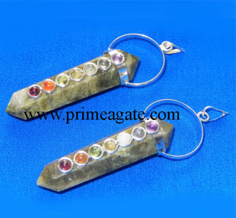 Vesuanite-DP-Points-Chakra-Pendants