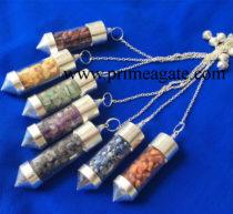 Chakra-Glass-Chamber-Pendulum-Set