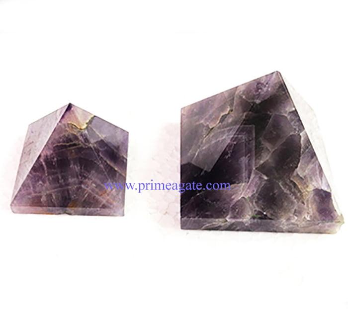 Amethyst-Pyramids