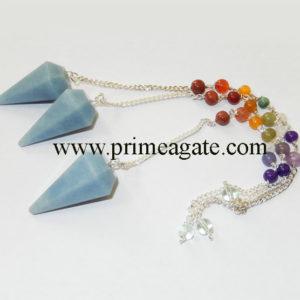 Angelite-Chakra-Pendulum
