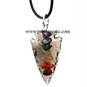 Black-Obsidian-Chakra-Arrowhead-Pendant