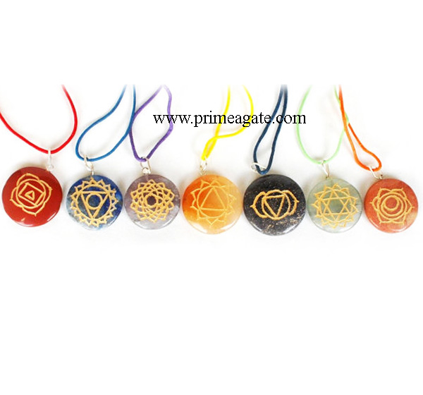 Chakra-Disc-Set-With-Colorful-Cord-Pendants