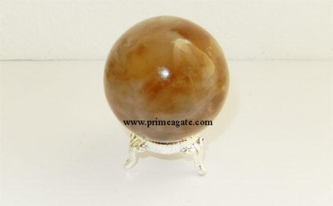 Citrine-Agate-Spheres