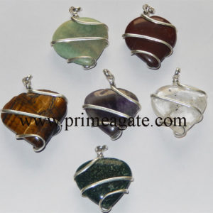 Mix-Assorted-Heart-Wrapped-Pendants