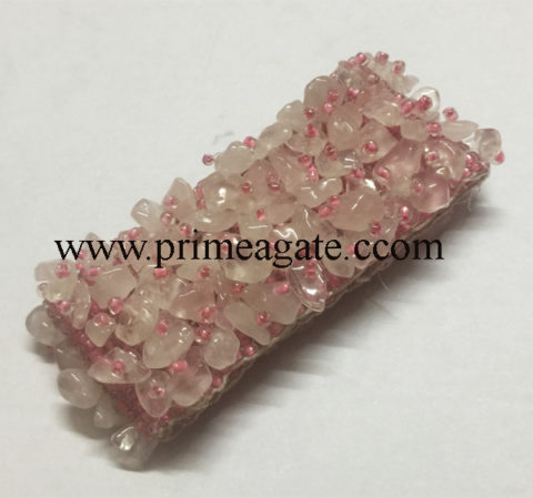 Rose-Quartz-Stretchable-Band