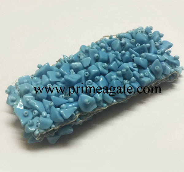 Turquoise-Stretchable-Band