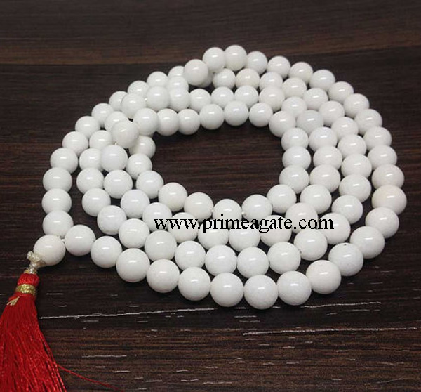 White-Agate-108Beads-Jap-Mala