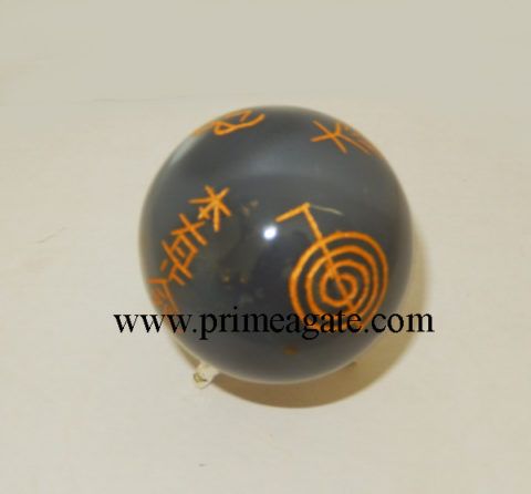 banded-agate-engraved-usai-reiki-sphere