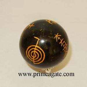 black-tourmaline-engraved-usai-reiki-sphere