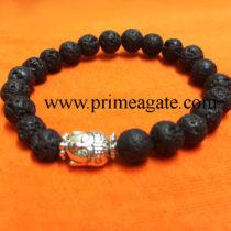 black-lava-strtchable-buddha-bracelet