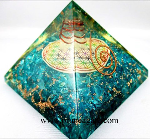 Blue-Onyx-Orgone-Pyramid-With-Chakra-Flower-Of-Life