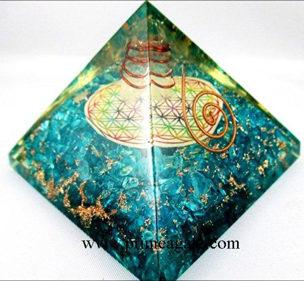 Blue-Onyx-Orgone-Pyramid-With-Chakra-Flower-Of-Life