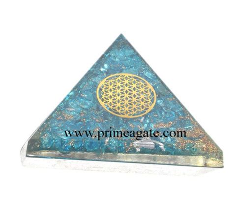 Blue-Onyx-Orgone-Pyramid-With-MetalFlower-Of-Life