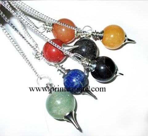 Chakra-Ball-Pendulum-Set
