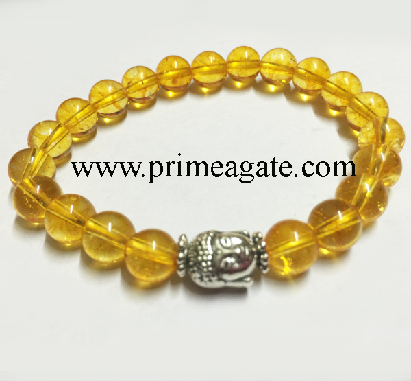 citrine-stretchable-buddha-bracelet