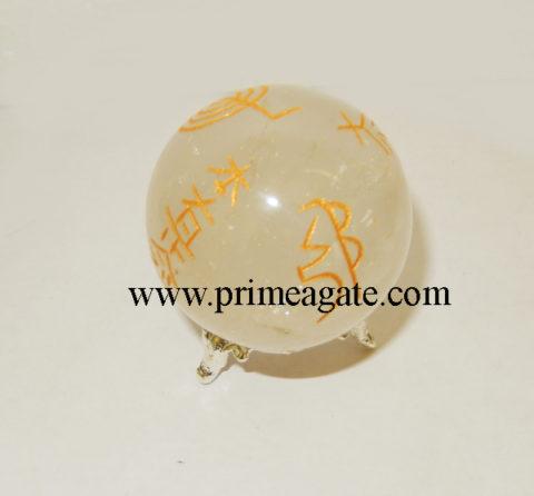 crystal-quartz-engrave-usai-reiki-sphere
