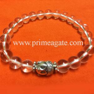 crystal-quartz-stretchable-buddha-bracelet