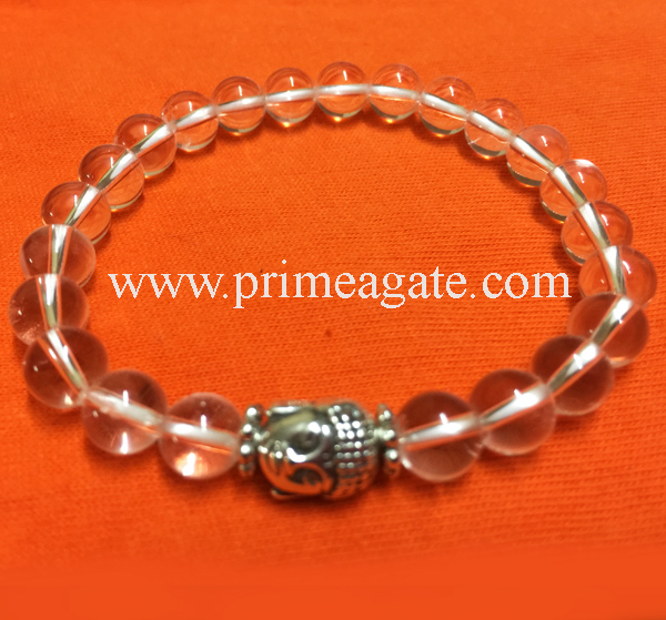 crystal-quartz-stretchable-buddha-bracelet