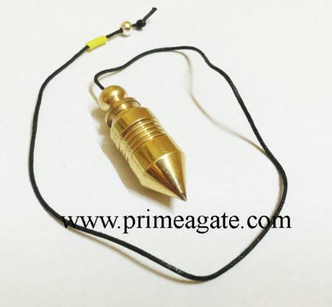 Golden-UFO-Bullet-Type-4line-Metal-Pendulum