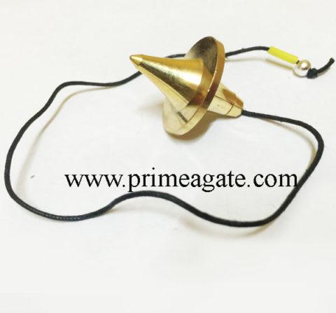 Golden-UFO-Metal-Pendulum