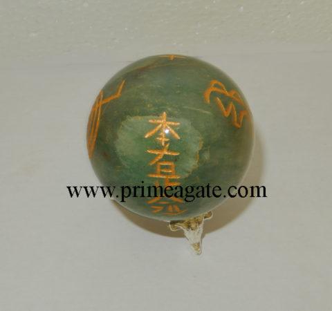 green-aventurine-usai-reiki-sphere