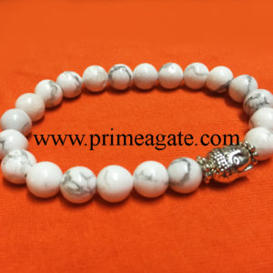 howlite-stretchable-buddha-bracelet