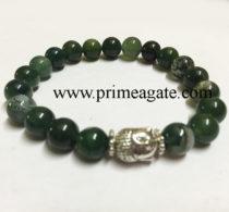 moss-agate-stretchable-budhha-bracelet
