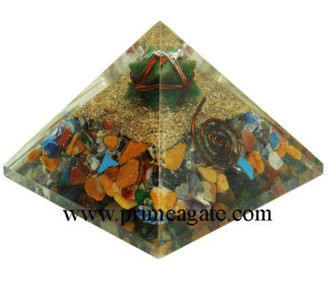 Orgone-Mix-Chakra-Stones-Pyramid-With-Green-Aventurine-Merkaba-Star